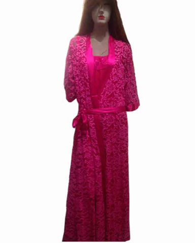 Kate Night Ware Fushia Pink K75-9003-2XL