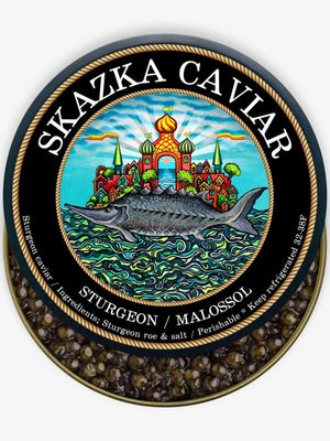 """Putin's Choice"" Royal White Sturgeon Caviar - Caviar Skazka"