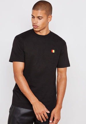 The Hundreds: Varsity T-shirt (Black)