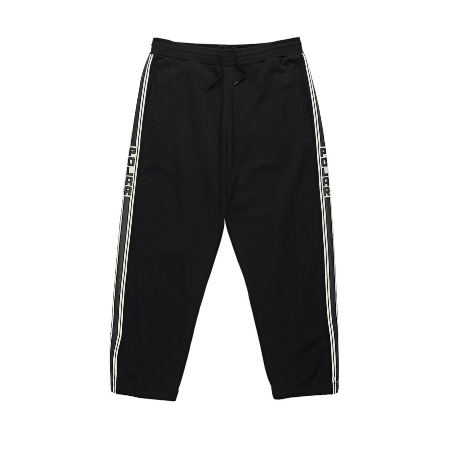 Polar Skate: Tape Sweatpants (Black)