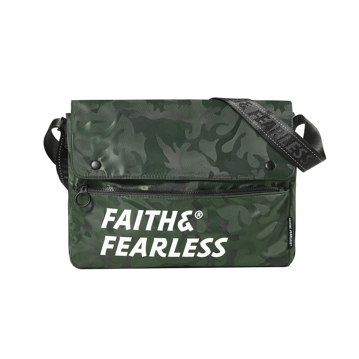 Faith & Fearless : CF Messenger (Green)