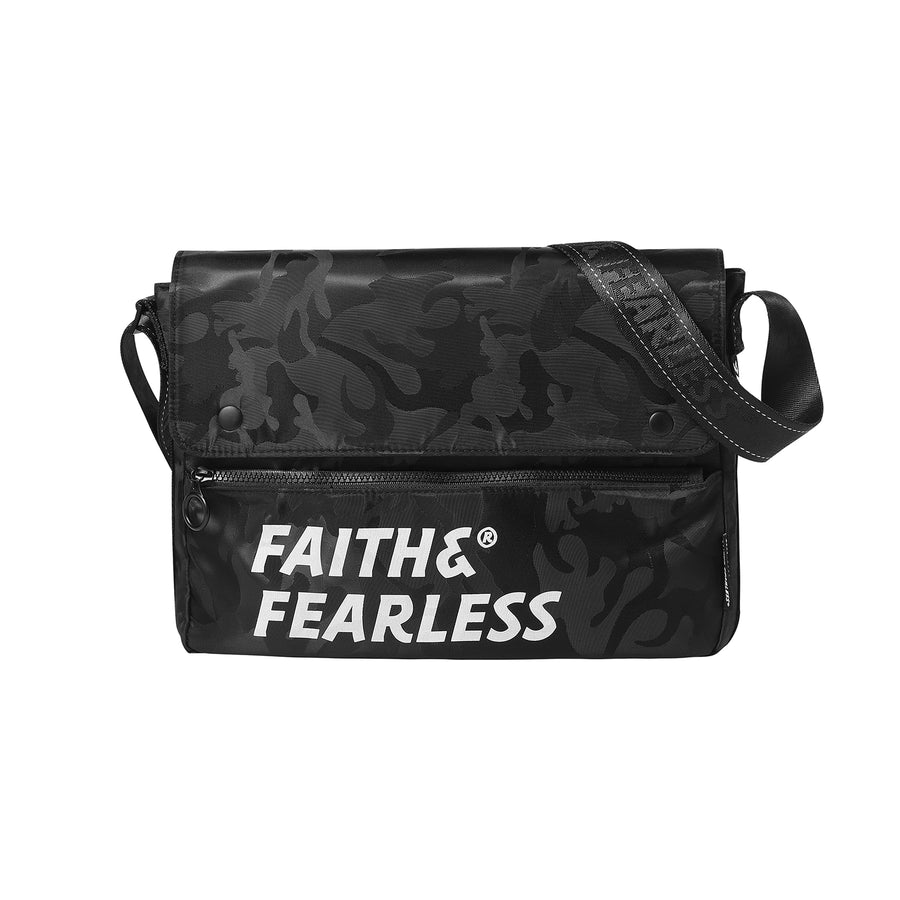 Faith & Fearless : CF Messenger (Black)