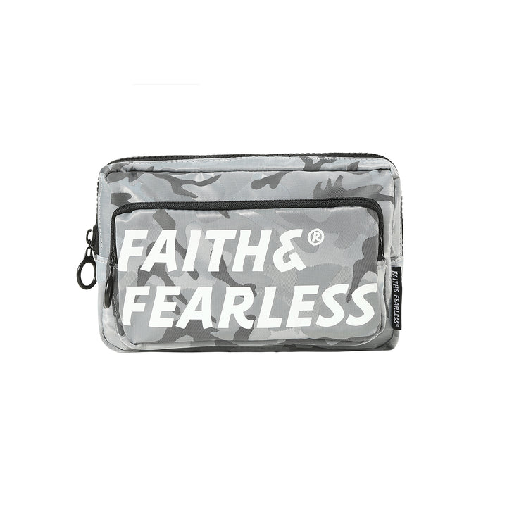 Faith & Fearless : CF Belt Bag (Silver)
