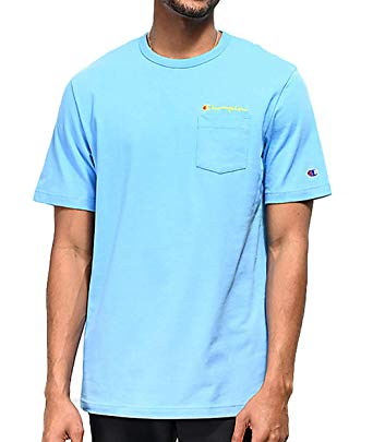 Champion: Heritage Pocket Tee (Active Blue)