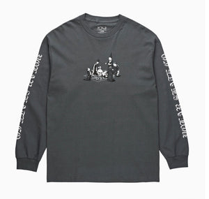 Polar Skate Co Rituals L/S T Shirt - Graphite