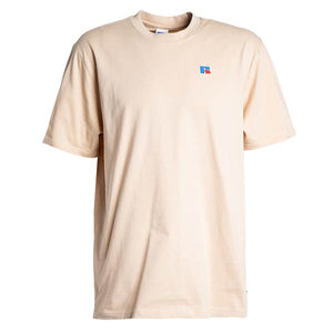 Russell Athletic: Baseliner Tee Heavyweight (Almond Bluff)