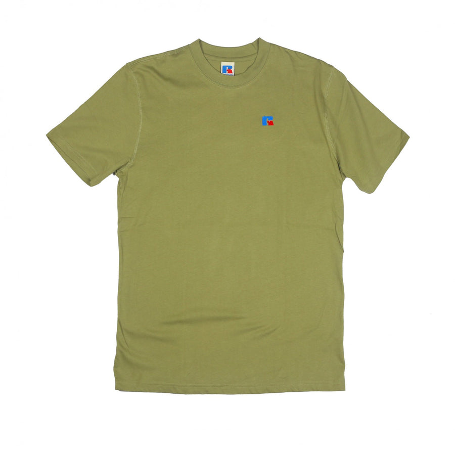 Russell Athletics: Baseliner Tee Heavyweight (Dry Grass)