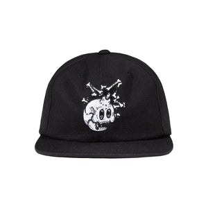 The Hundreds : Bones Snapback (Black)