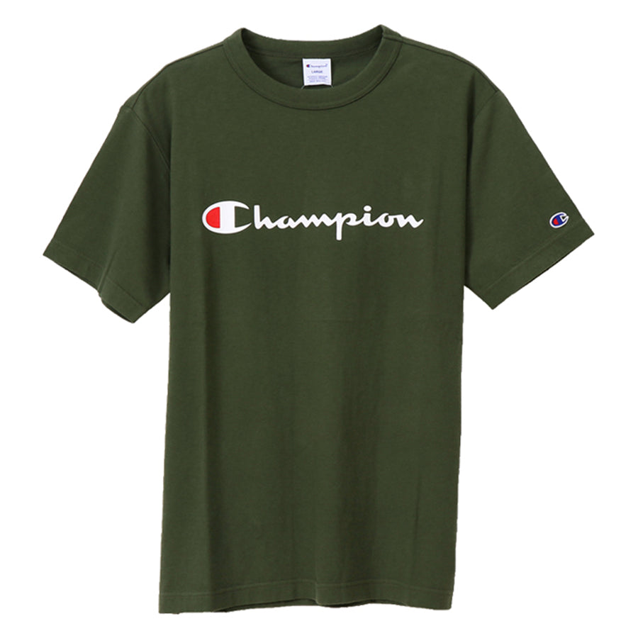 Champion: Jpn Script T-Shirt (Dark Green)