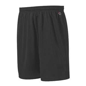 "Champion: Polyester Mesh Short 9"" (Black)"
