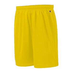 "CHAMPION: POLYESTER MESH SHORT 9"" (Gold)"