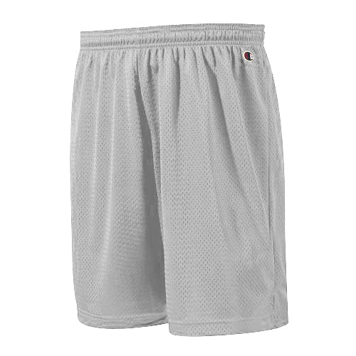 "Champion: Polyester Mesh Short 9"" (Athletic Heather)"