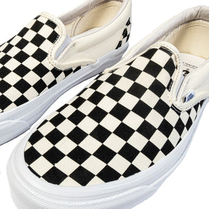 Vans Vault: Classic Slip-On Lx Canvas (Checkerboard)