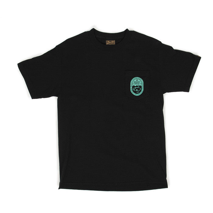 Benny Gold : Diving Club Pocket Tee (Black)