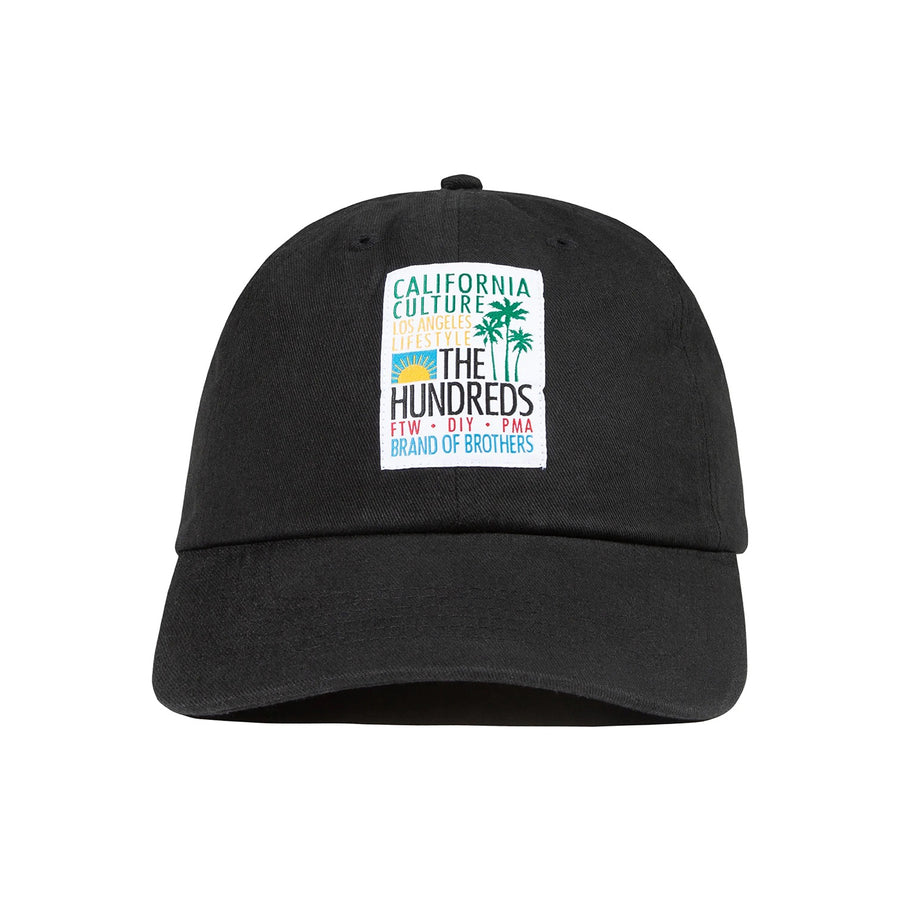 The Hundreds : Dane Dad Hat (Black)