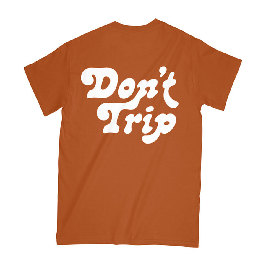 Free & Easy: Don't Trip SS Tee (Rust)