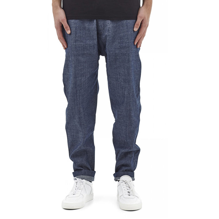 I Love Ugly: Edo Pant Hatched Denim