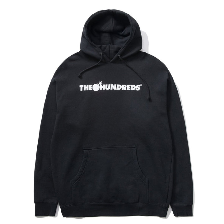 The Hundreds : Forever Bar Logo Pullover (Black)