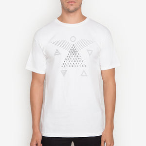 Black Scale: Glyph (White)