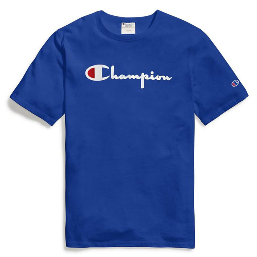 Champion: Heritage Direct Flock Tee (Surf The Web)