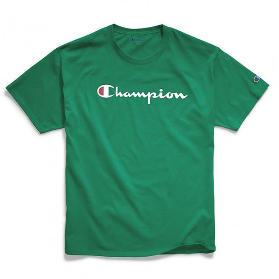 Champion: Classic Jersey Graphic Tee (Kelly Green)