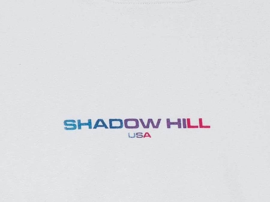 Shadow Hill : Gradient Energy Pullover (White)