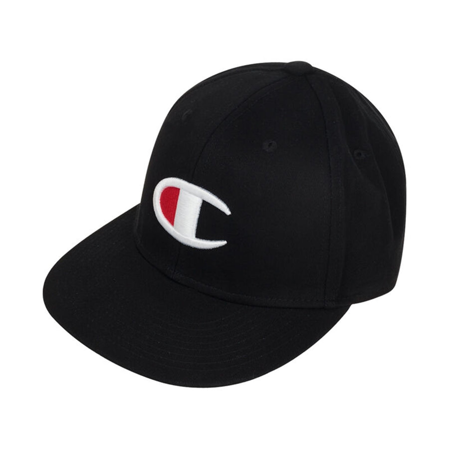 Champion: BB Snapback Big-C Hat (Black)