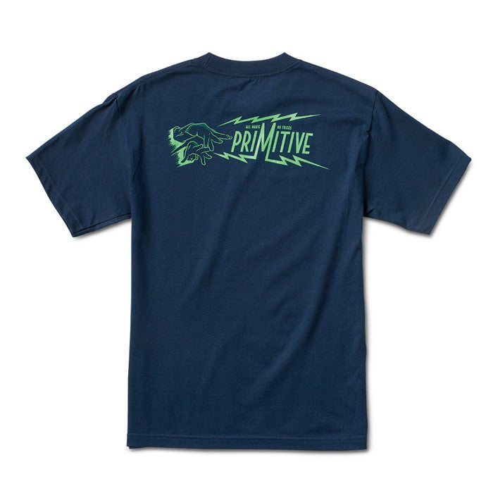 Primitive Apparel: Hypnotic Tee (Navy)