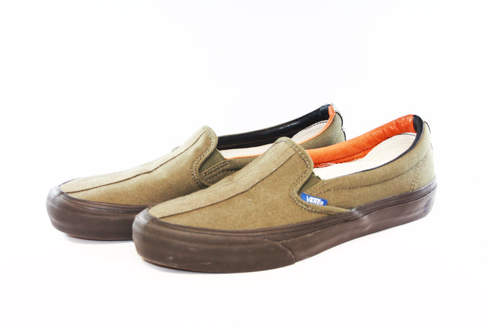 Vans: Vault-Shoes: TH Slip-on 66 LX (Stone Gray)