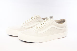 Vans: Vault-Shoes: OG Old Skool LX Leather/Suede (Marshmallow)