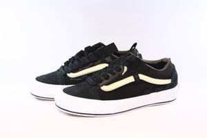 Vans Vault: OG Old Skool Cap LX Regrind (Black/White)