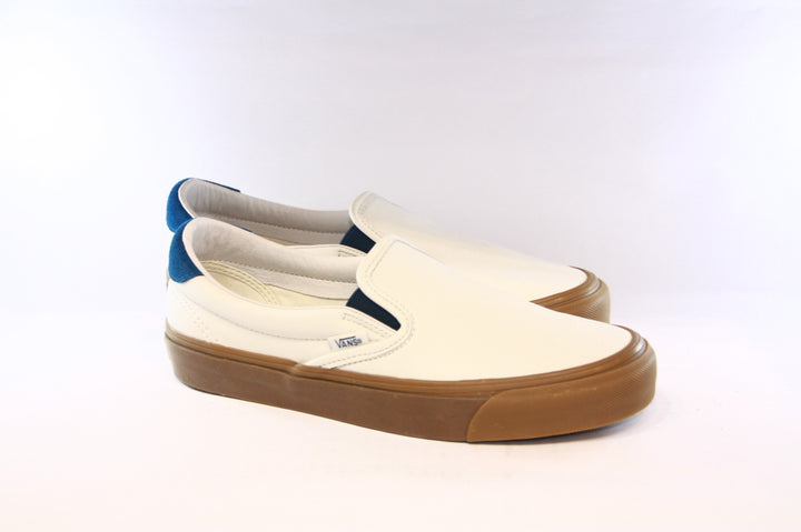 Vans Vault: OG Slip-On 59 LX (Marshmallow/Sailor Blue)