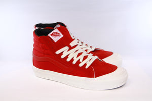 Vans Vault: OG Style 138 LX (Racing Red/Checkerboard)