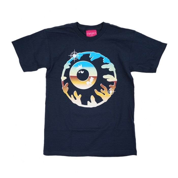 Mishka: Chrome Keep Watch Tee (Navy)