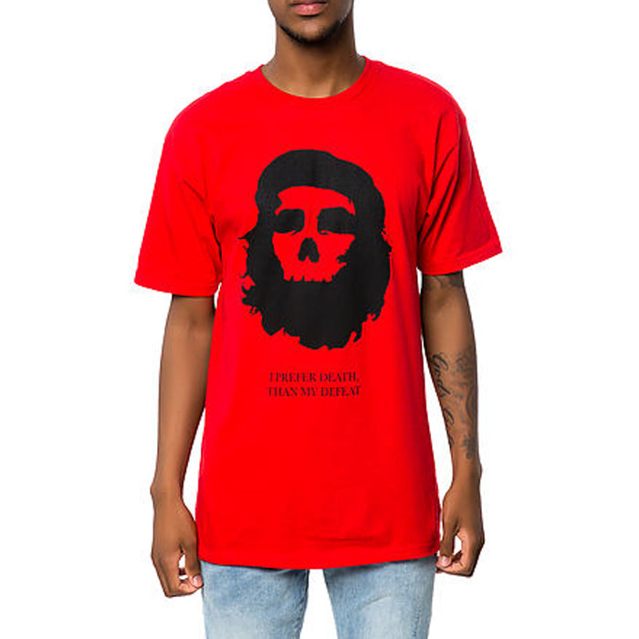 Black Scale: Marxist Skull (Red)