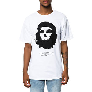 Black Scale: Marxist Skull (White)