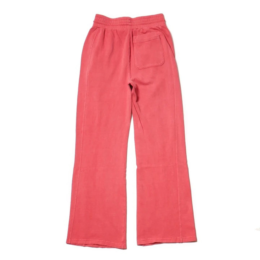 Champion: Women's Vintage Dyed High Waist Fleece Wide Leg Pant (Picante Pink)