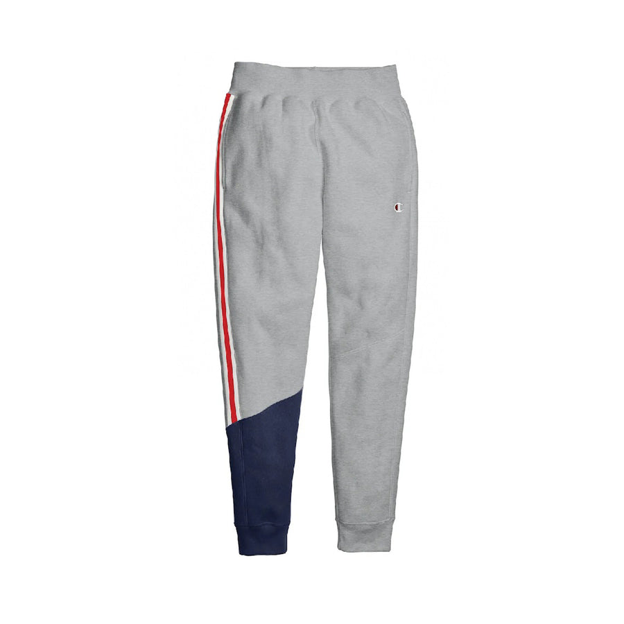 Champion: Women's Reverse Weave Colorblock Jogger (Oxford Grey/Imperial Indigo)