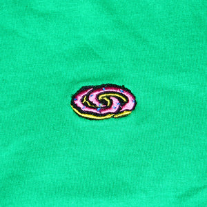 Odd Future : Donut Logo Print Front Back (Jade Dome)