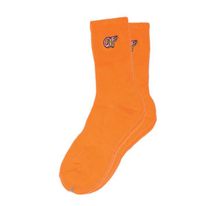 Odd Future : OF Woven Socks (Orange)