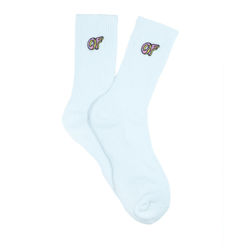 Odd Future : OF Woven Socks (White)