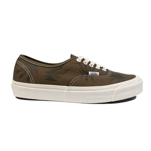 Vans Vault: Og Authentic Lx Canvas/Island Leaf (Military Olive/Dark Olive)