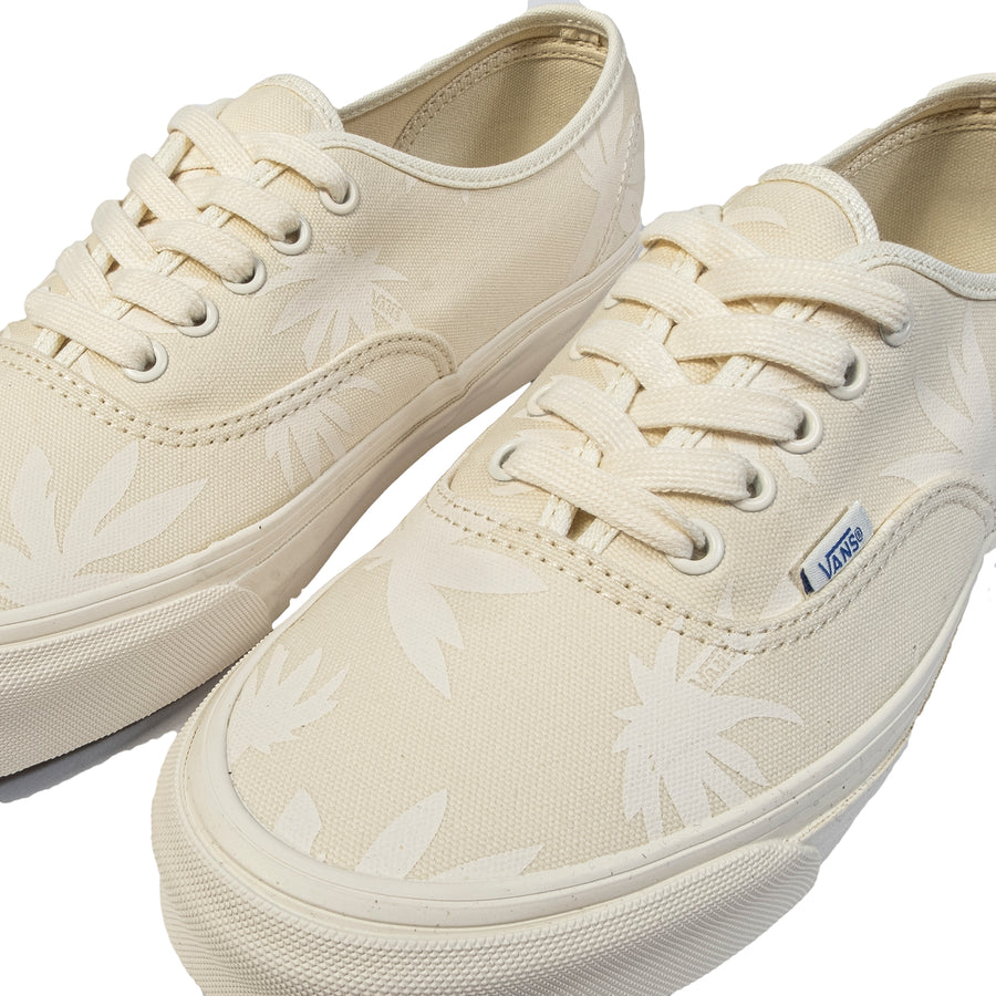 Vans Vault: OG Authentic LX Canvas/Island Leaf (Natural/Marshmallow)