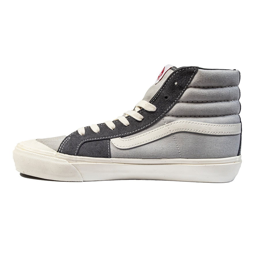 Vans: OG Style 138 LX (Suede/Canvas) Pearl Gray/Multi