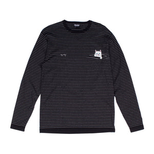 RIPNDIP: Peaking Nermal L/S (Black/White)