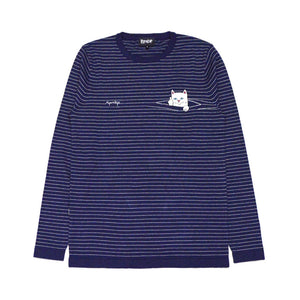 RIPNDIP: Peaking Nermal L/S (Blue/White)