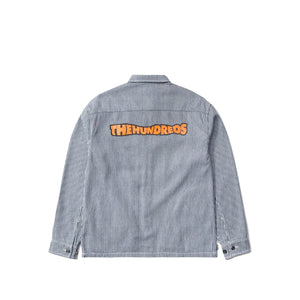 The Hundreds : Roosevelt LS Woven Shirt Jacket (Navy)
