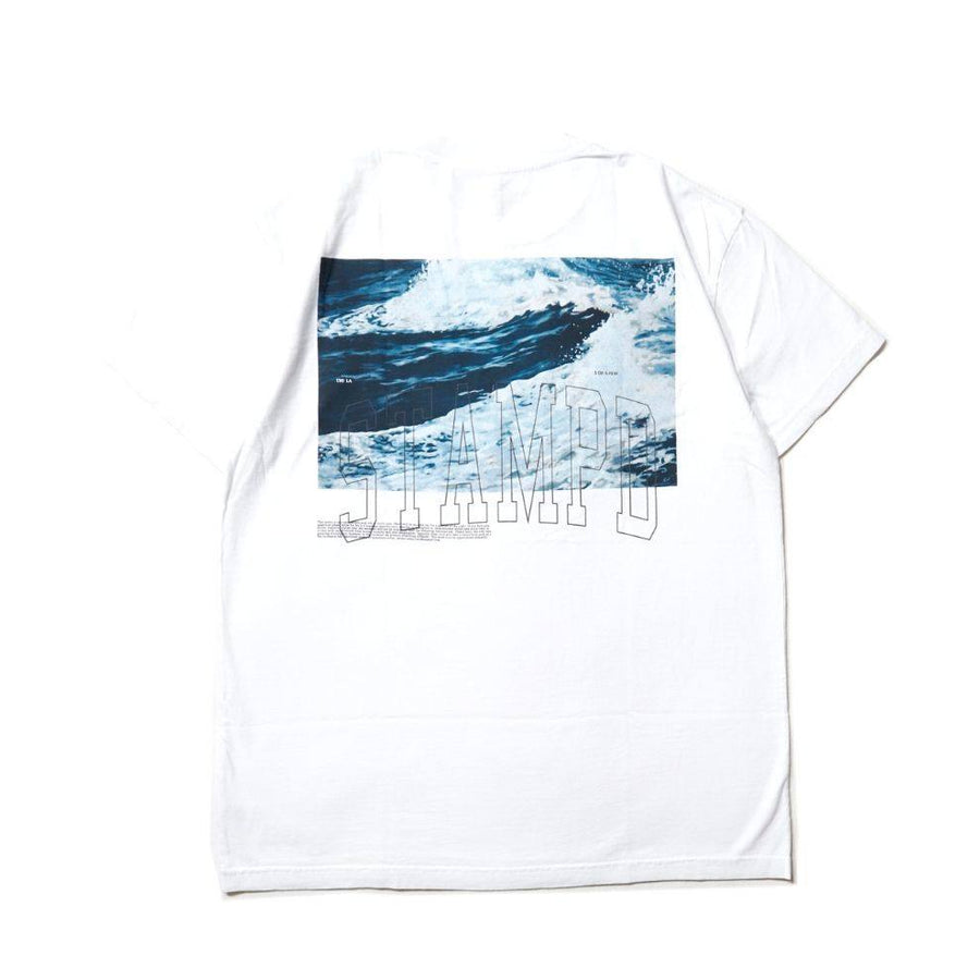 Stampd: Waves Tee (White)