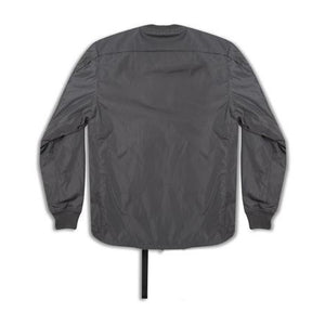 Stampd: Scalloped Bomber (Charcoal)