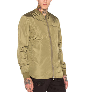 Stampd: Scalloped Bomber (Olive)